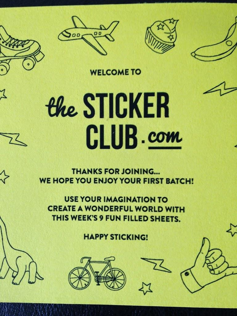 The Sticker Club - Product Review, photo 2B141%, product-review%