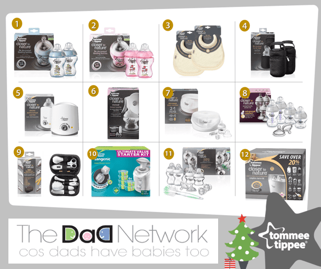 12 Gifts of Christmas - £340 free giveaway for Christmas with Tommee Tippee, 12 2Bdays 2Bpost 2B1%, uncategorised%