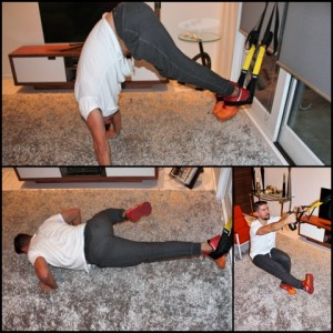How To Stay Fit Without Picking Up A Single Weight, TRX Collage 300x300%, daily-dad, health%