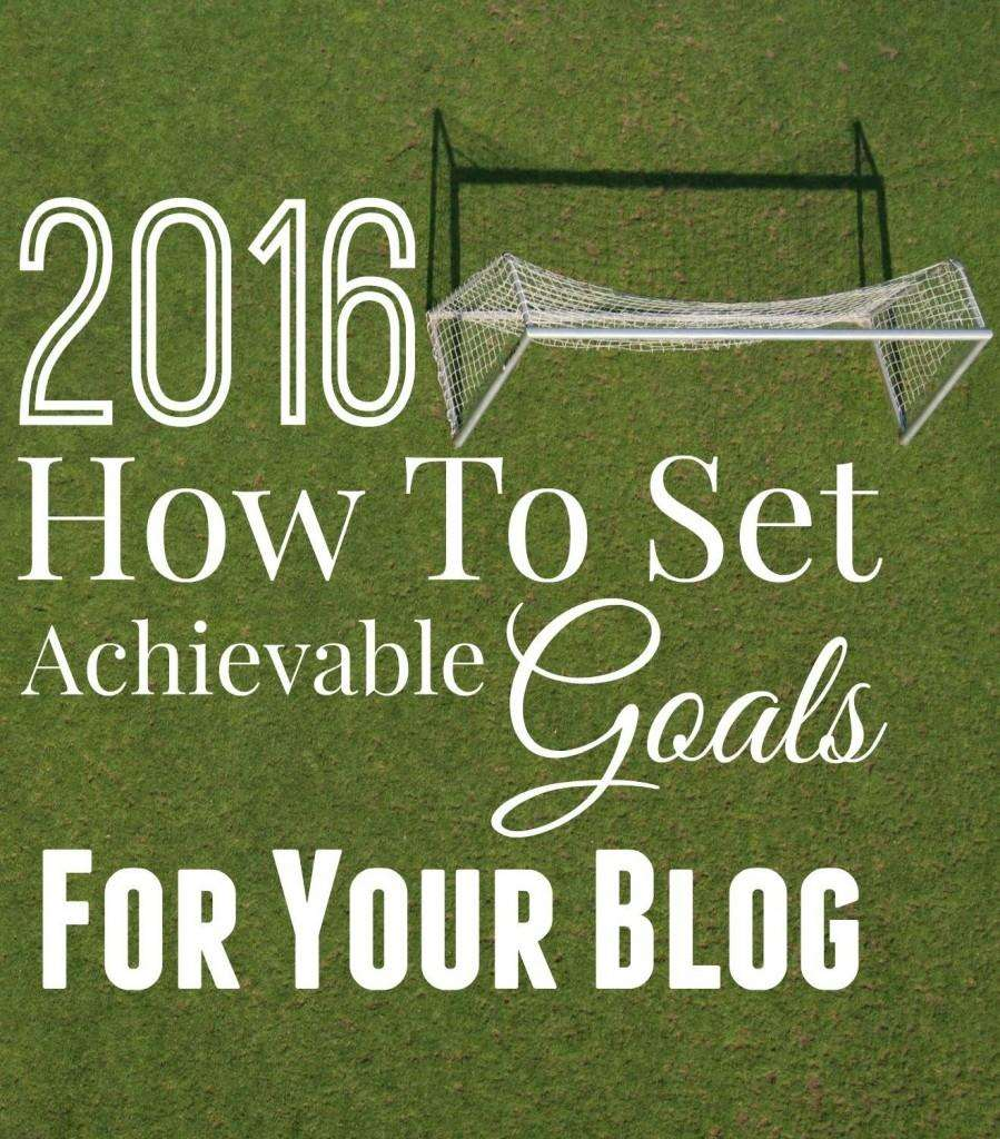 Setting goals for your blog