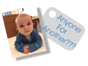 When To Have Baby Number Two?, photo 300x225%, new-dad%