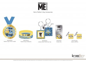"""You're 1 in a minion"" keyring? Even the kids could afford this!"
