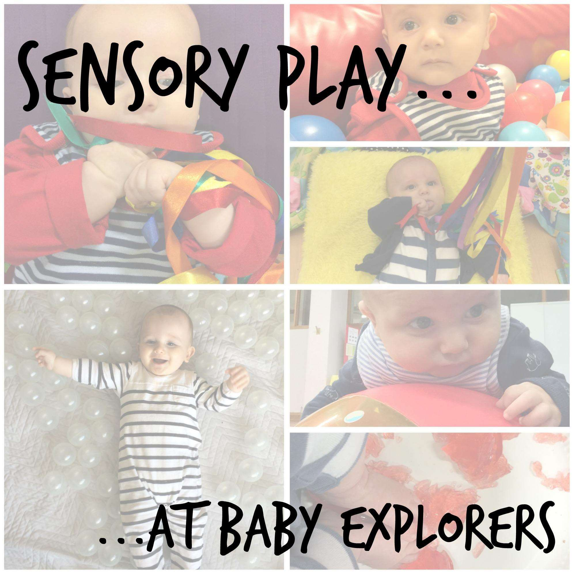 Sensory Play at Baby Explorers, Sensory Play BE%, new-dad%