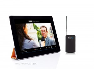 Tablet TV - for those times when dad is bored and the TV is booked by the kids!