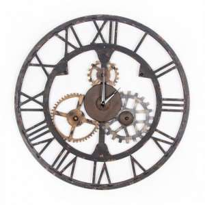 A fashionable wall clock for his office?