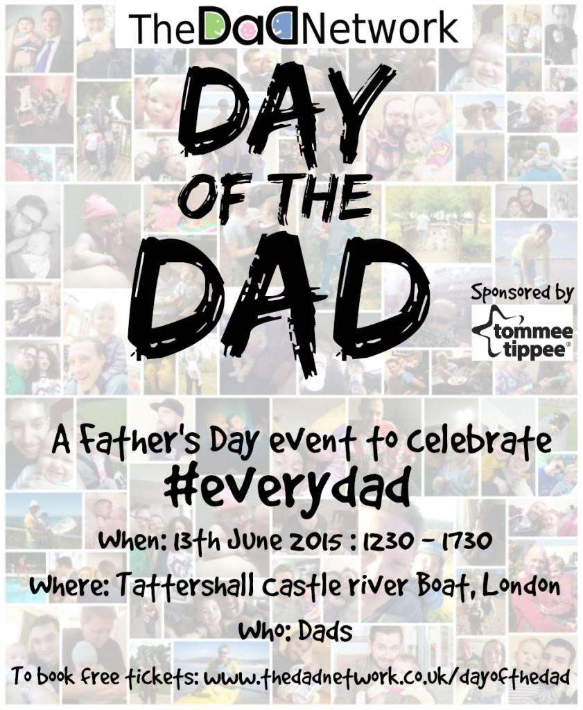 Day of the Dad : The Fathers Day Event, Day of the Dad FINAL 841x1024%, new-dad%