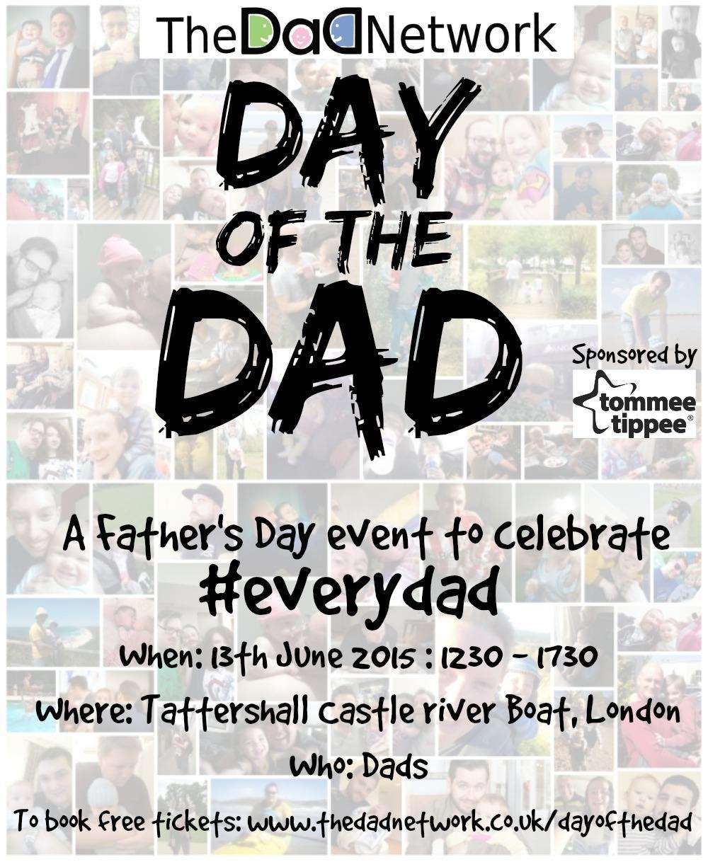Day of the Dad : The Fathers Day Event, Day of the Dad FINAL%, new-dad%