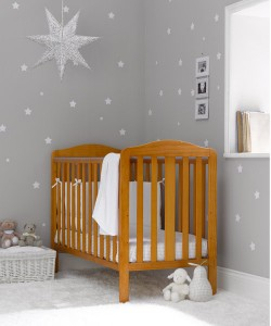 How to Furnish a Nursery for under £600, Cot 250x300%, new-dad%