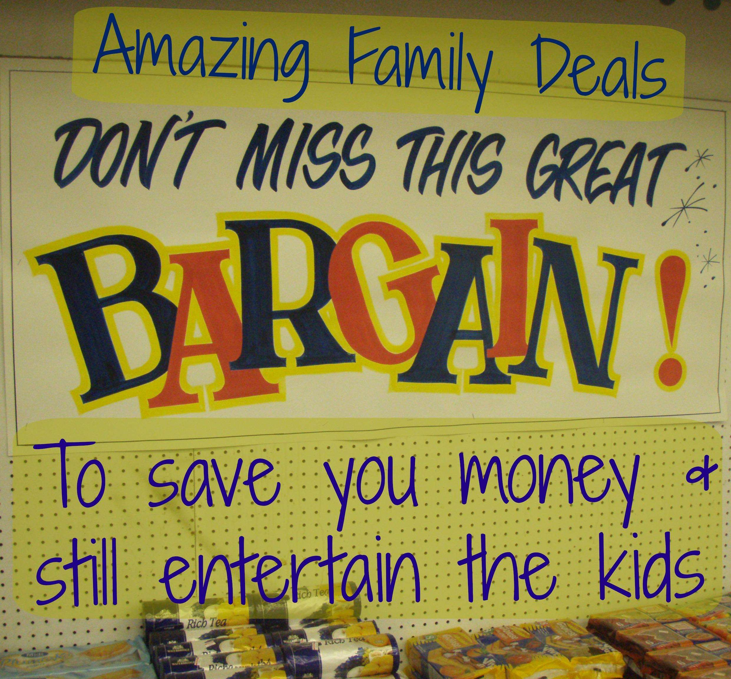 Amazing Family Deals to Save You Money, Discount 5%, uncategorised%