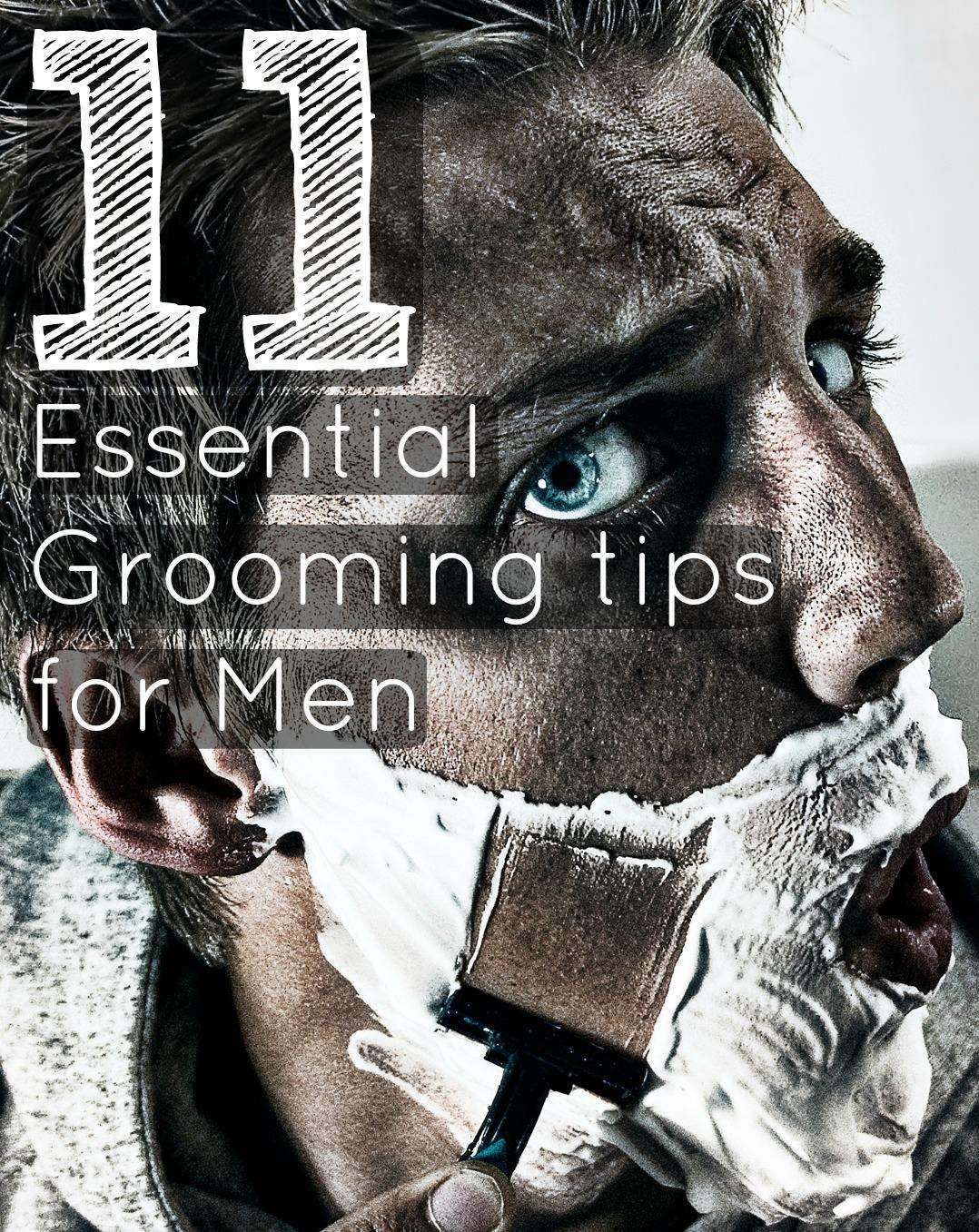 11 Essential Mens Grooming Tips, Grooming%, new-dad%