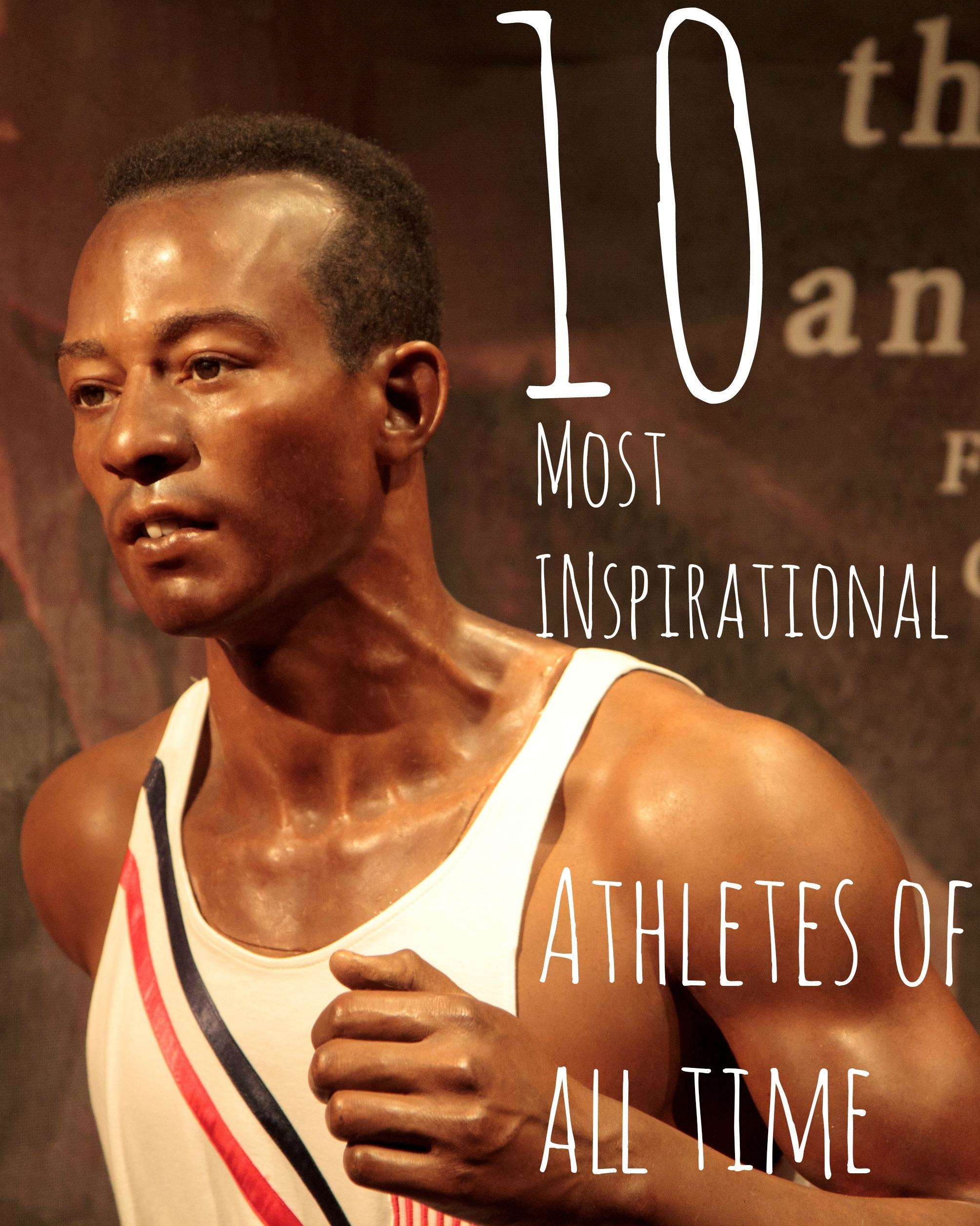 10 Most Inspirational Athletes of All Time, Jesse%, new-dad%