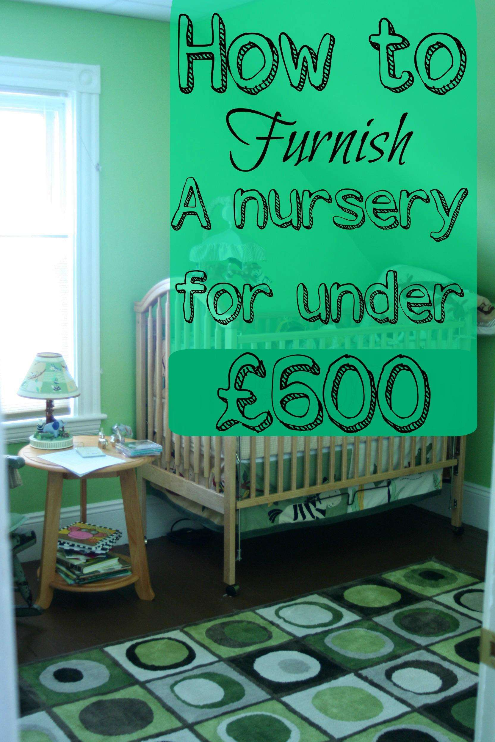 How to Furnish a Nursery for under £600, Nursery1%, new-dad%