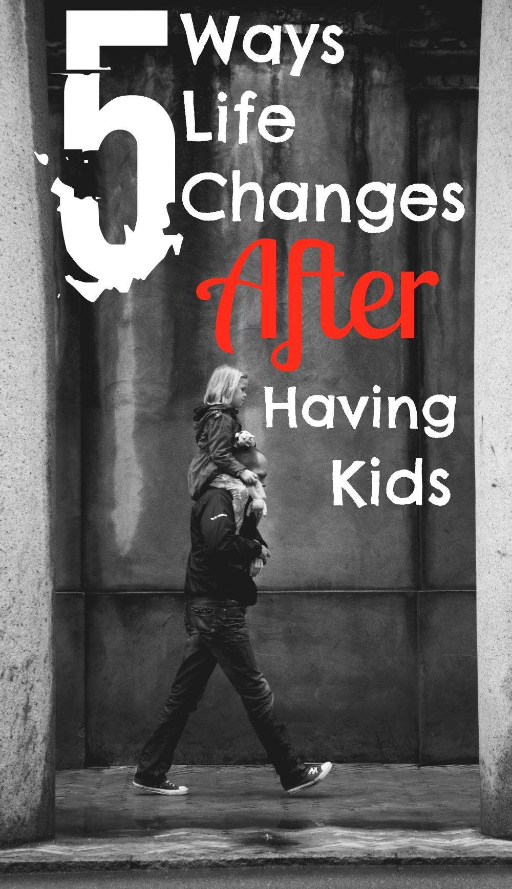 5 Ways Life Changes After Having Kids, How life changes after having a baby%, new-dad%