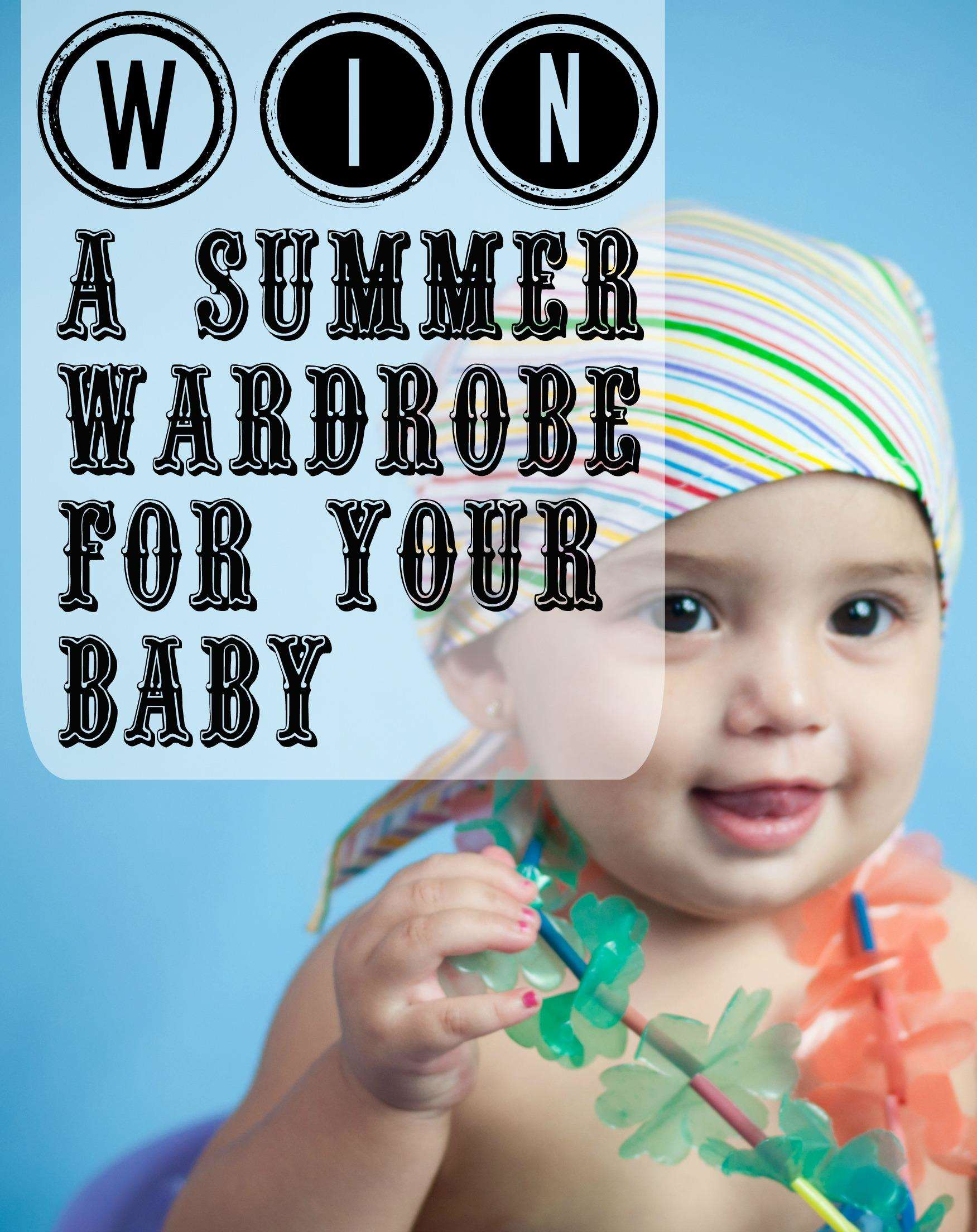 WIN a wardrobe of summer baby clothing!, Summer Baby Clothing%, uncategorised%