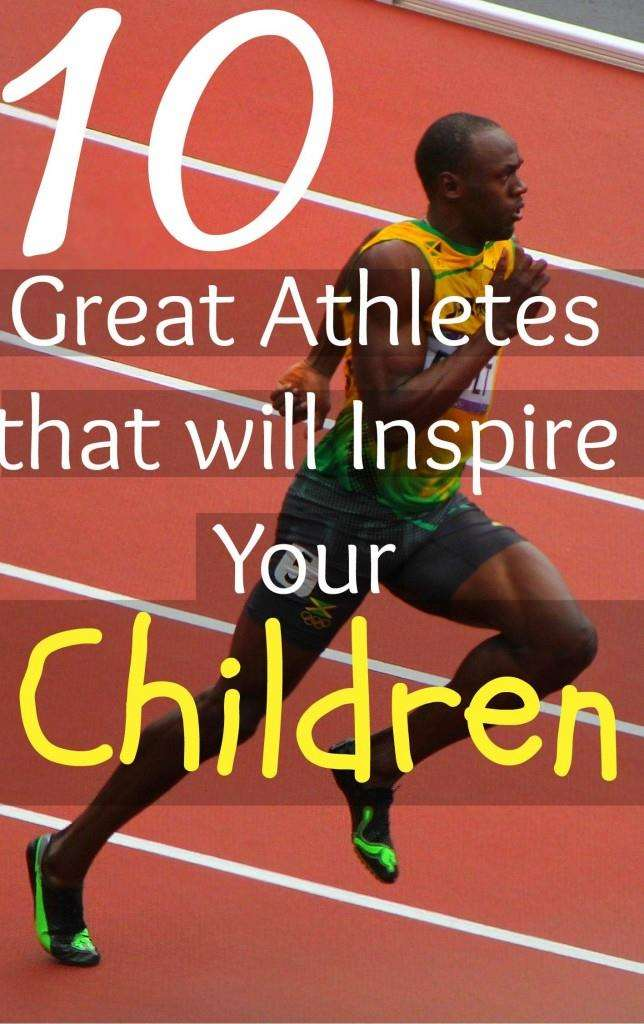 Athletes that inspire kids