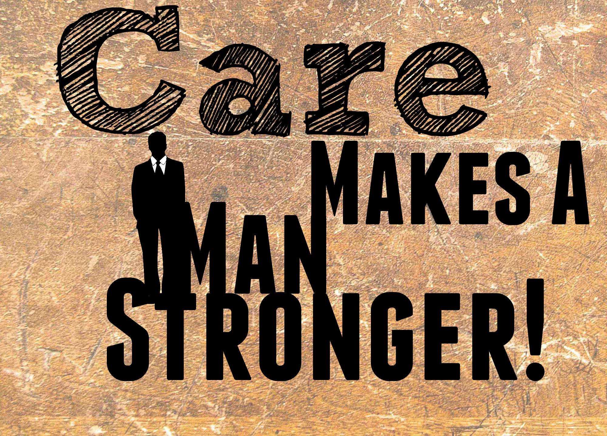 Care Makes a Man Stronger, Care makes a man stronger%, product-review, new-dad%