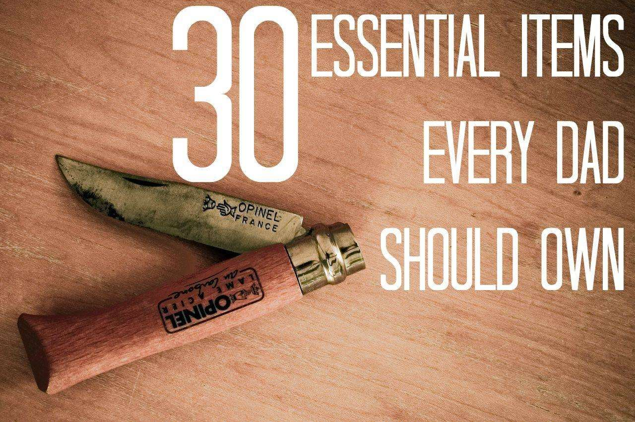 30 Essentials Every Dad Should Own, Opinel%, daily-dad%
