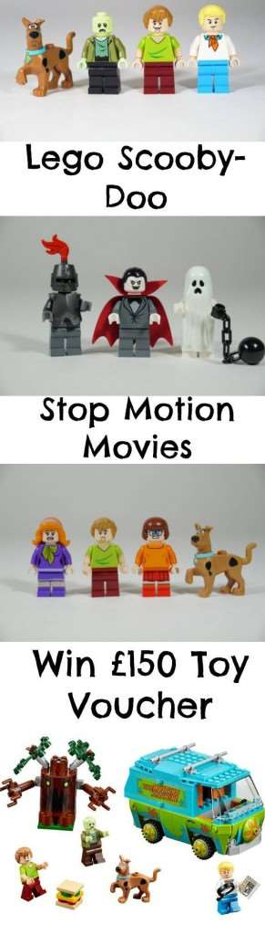 Amazing LEGO Scooby-Doo Stop Motion Videos - Win £150 Toy Voucher!, Lego Scooby Doo 291x1024%, uncategorised%