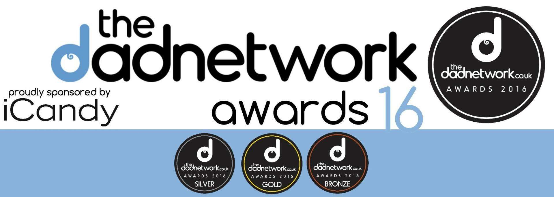The Dad Network Product Awards 2016 WINNERS!, TDN Awards banner ICANDY%, product-review%