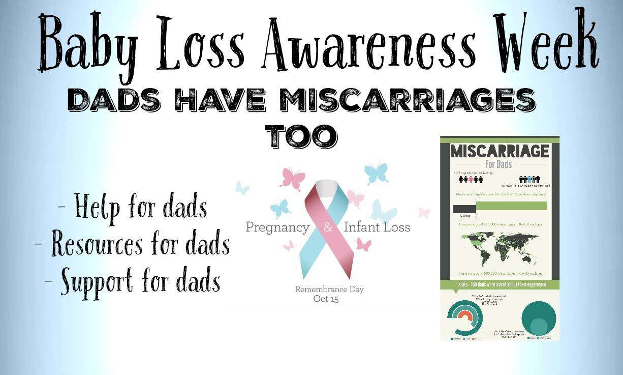 Baby Loss Awareness Week - Dads Have Miscarriages Too, Baby Loss Awareness Week Featured %, miscarriage, expecting%