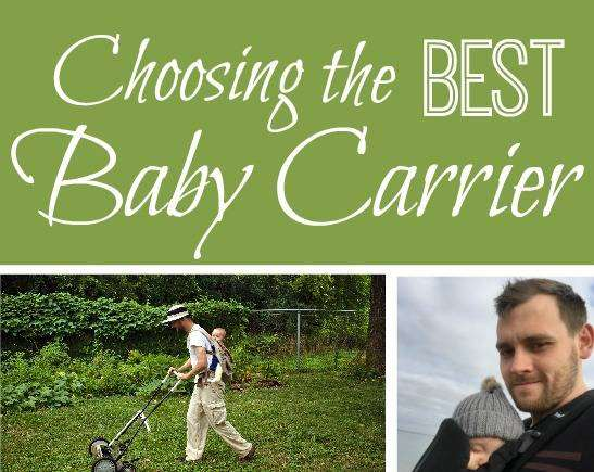 Choosing The Best Baby Carrier, Best Baby Carrier featured%, product-review, new-dad%