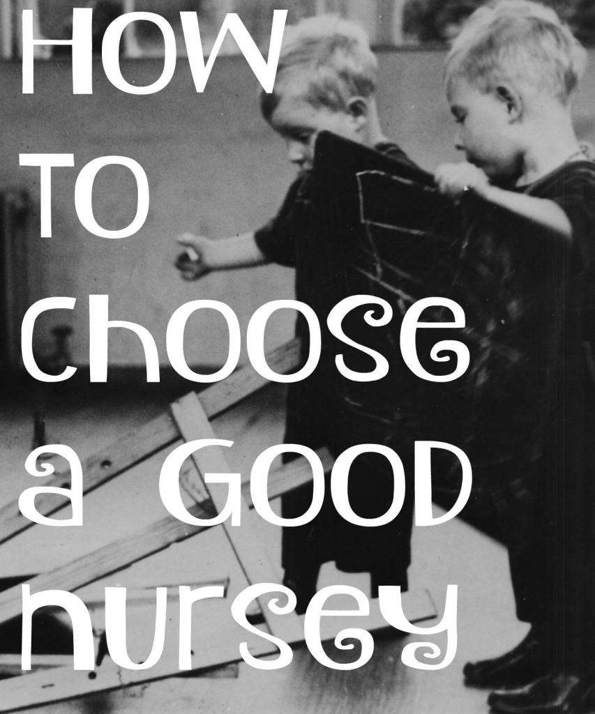 Choose a nursery 2