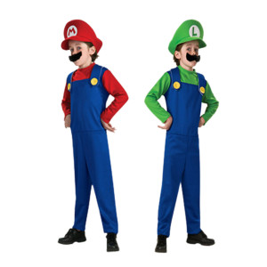 Cheap Halloween Costume Ideas For Your Kids, Mario Bros eBay 300x300%, uncategorised%