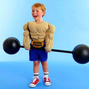 Cheap Halloween Costume Ideas For Your Kids, Muscle Man%, uncategorised%