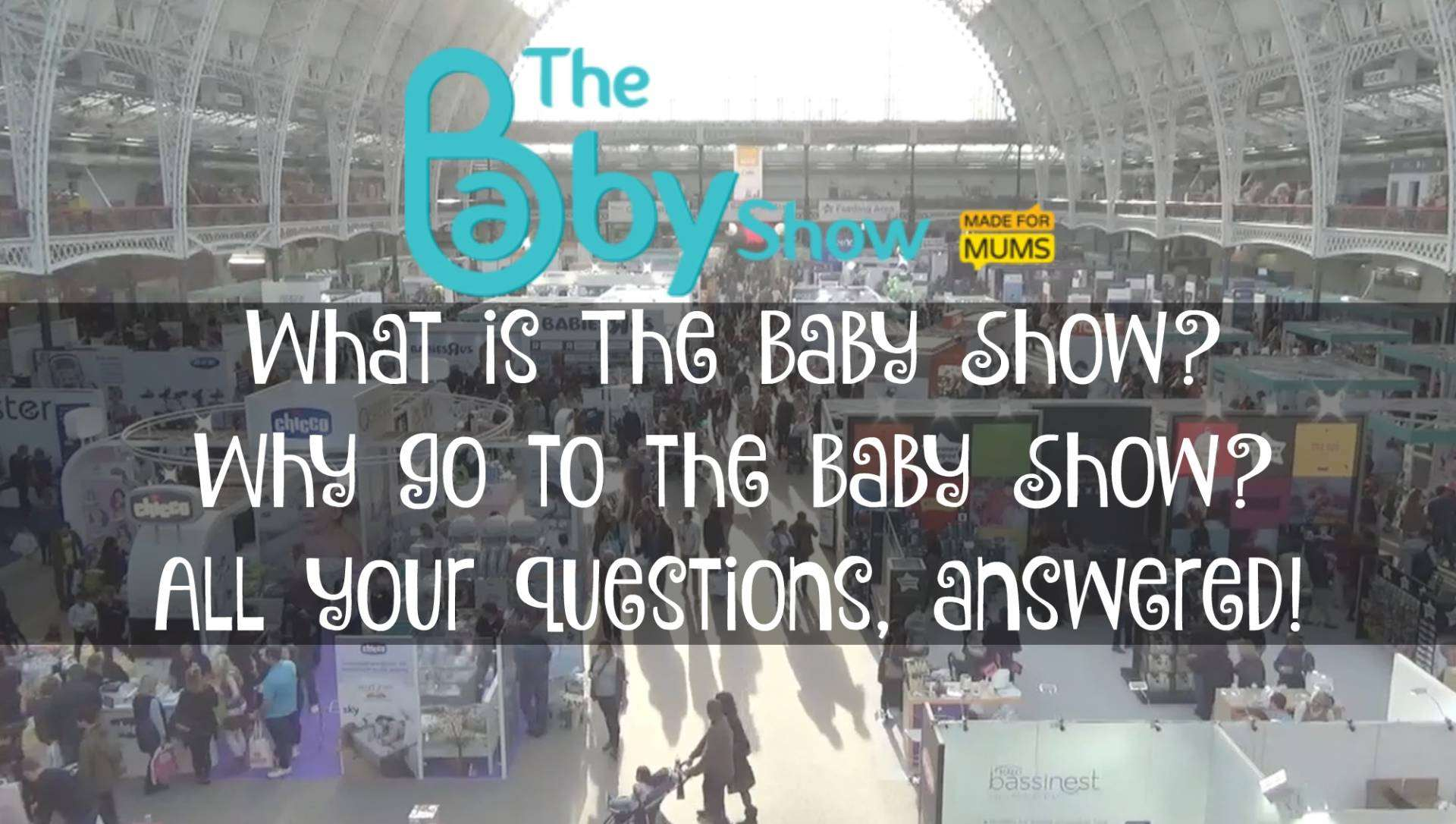 The Baby Show Olympia 2015, What is the baby show%, new-dad%