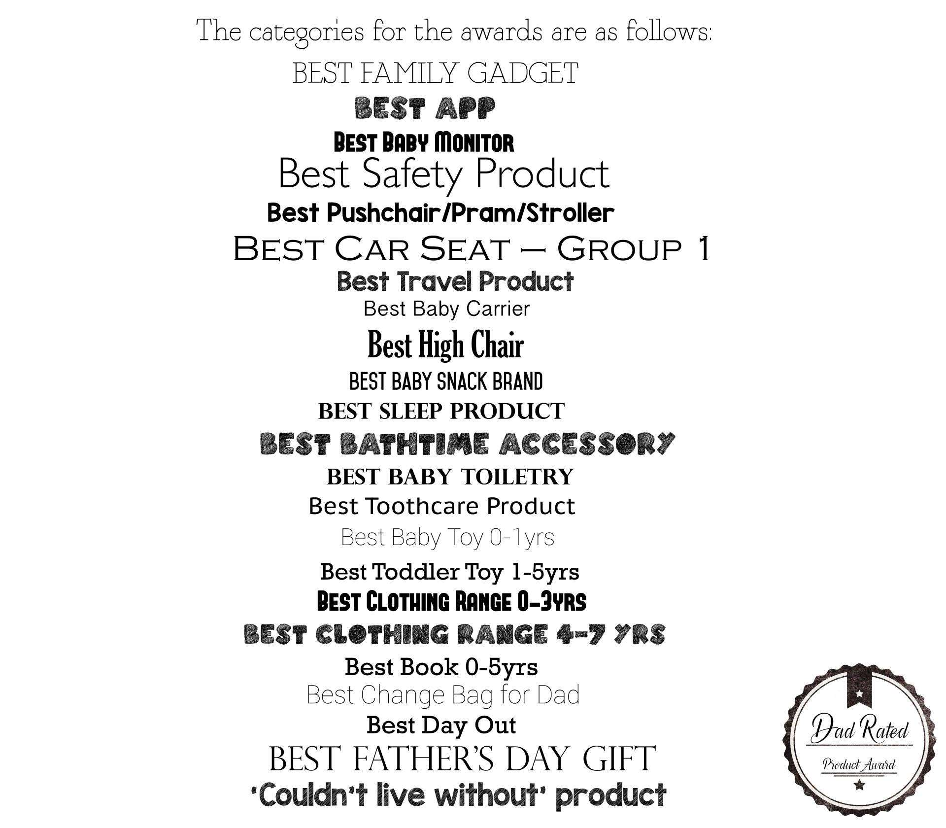 categories page dad network