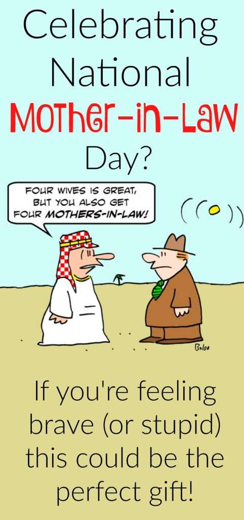 mother in law day