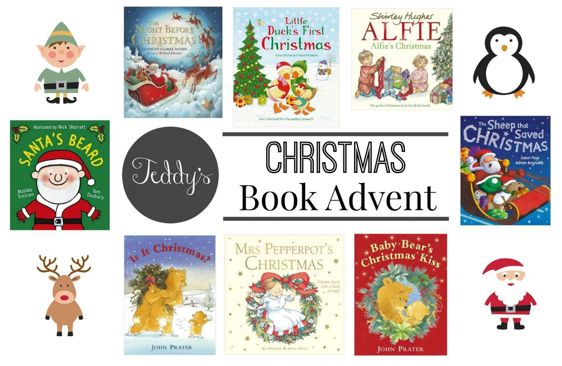 Book Advent Calendar - Part 1, Book Advent Featured%, new-dad%