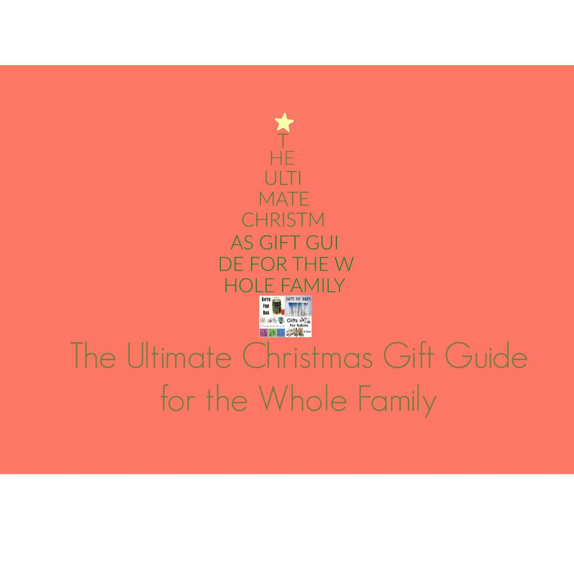WIN! Ultimate Christmas Gift Guide for the Whole Family: WIN a Huggies Bundle, Keg of Beer & more!, Christmas gift guide Featured1%, new-dad%