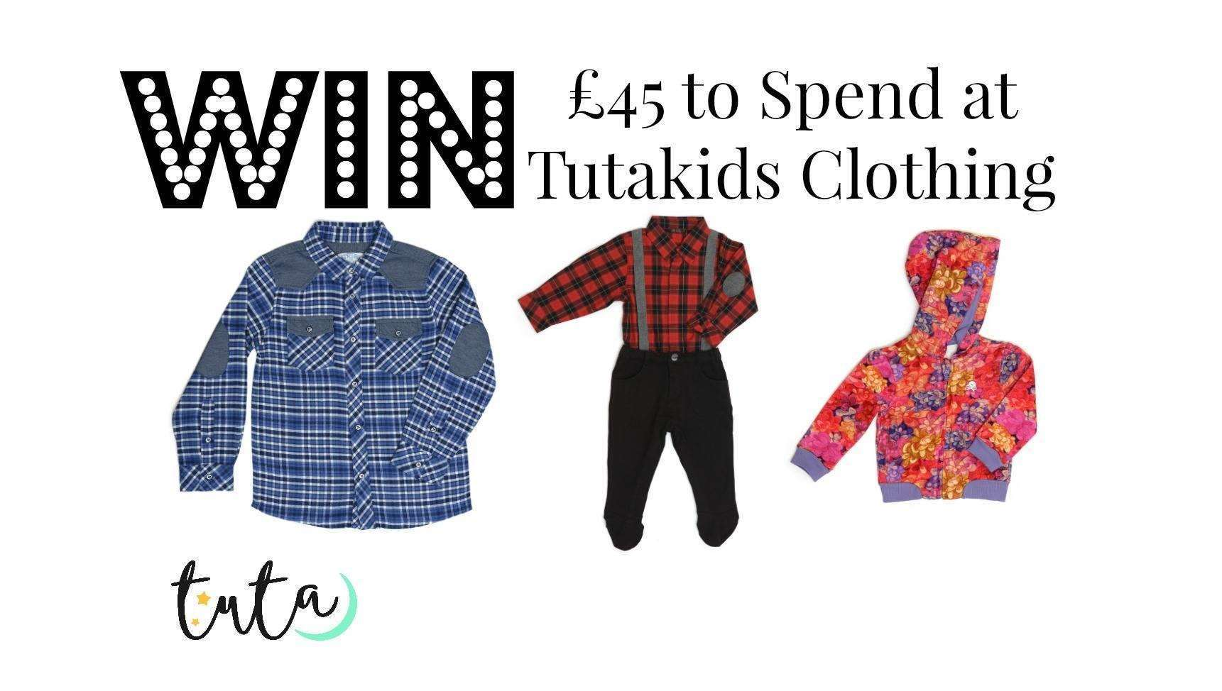 WIN £45 Voucher to Spend at TutaKids Clothing, Tutakids%, uncategorised%