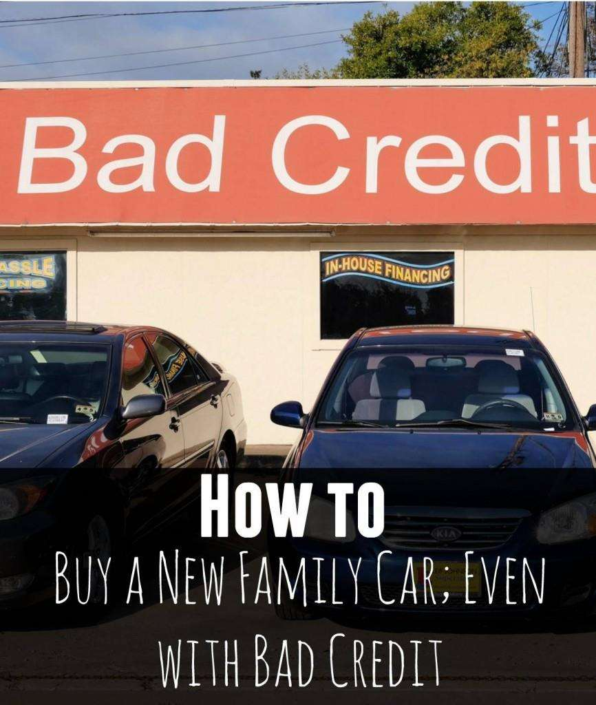 How to buy a new family car, even with bad credit, Buy a new family car 866x1024%, new-dad%