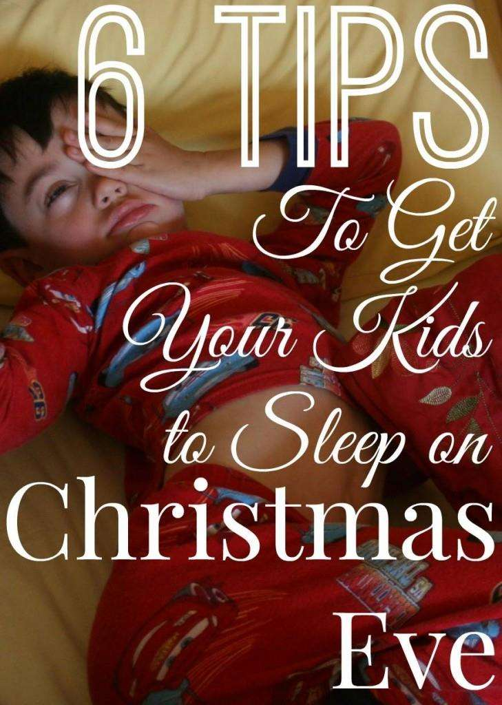 Get your kids to sleep