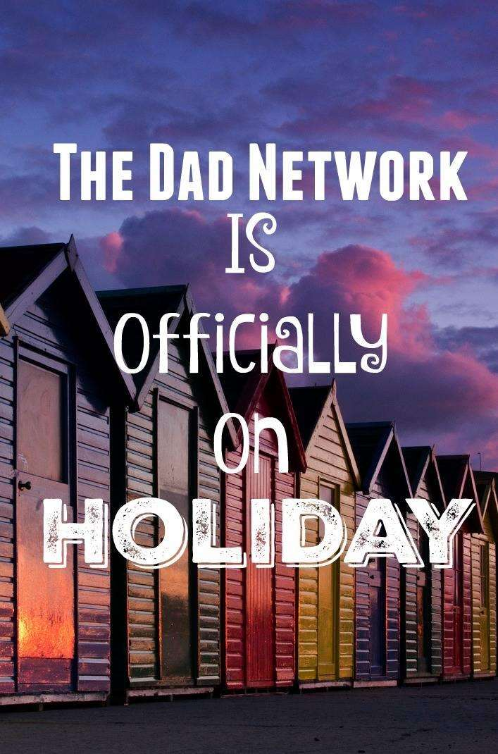 The Dad Network is Officially on Holiday, Holiday%, new-dad%