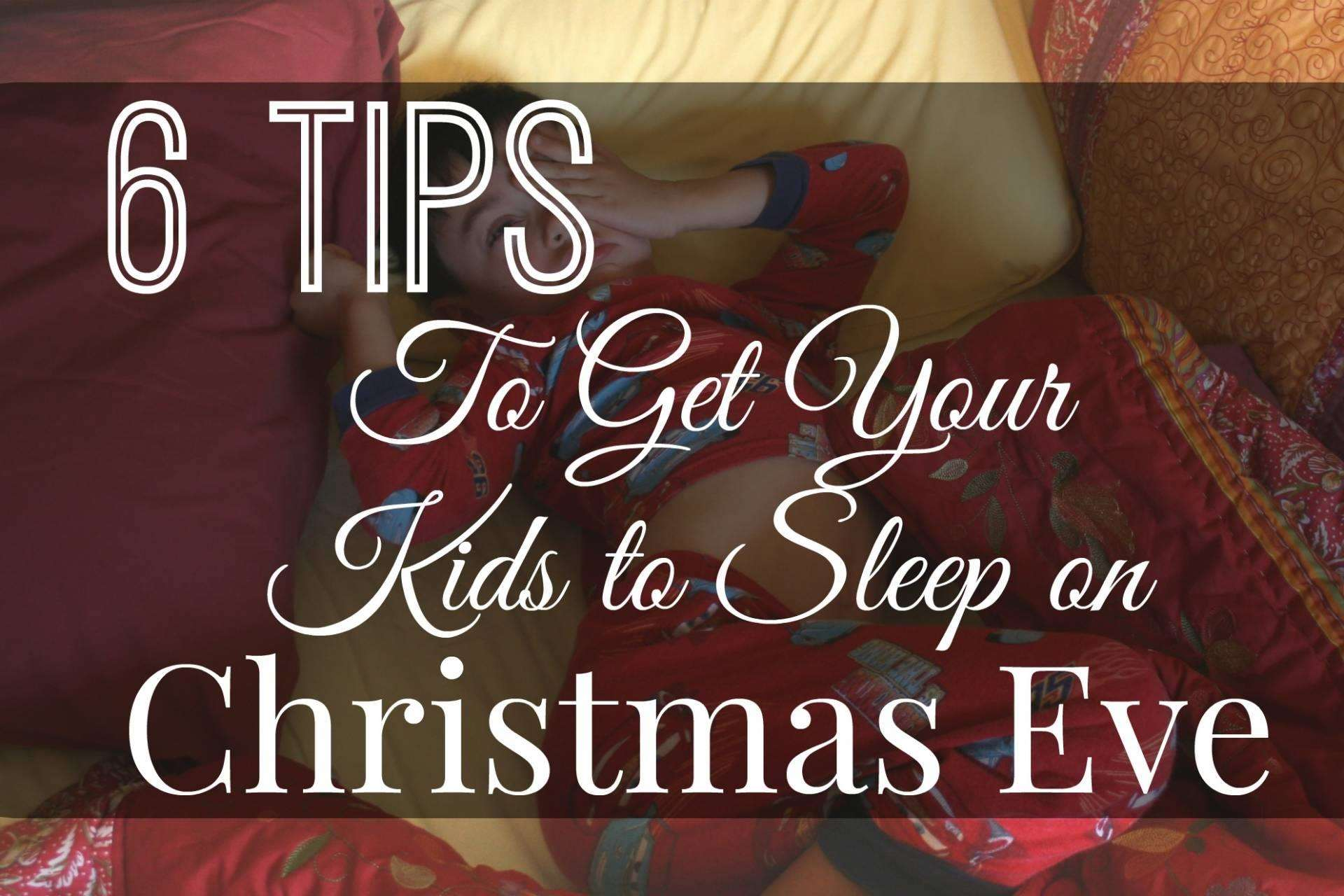 8 Essential tips for how to get your kids to sleep on Christmas Eve, Sleep%, new-dad%