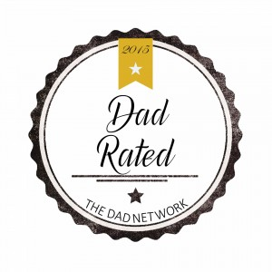 the dad rated badge gold 2015 badge