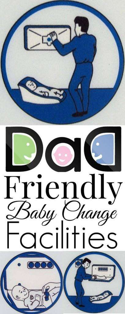 #dadsforchange Dad Friendly baby change facilities