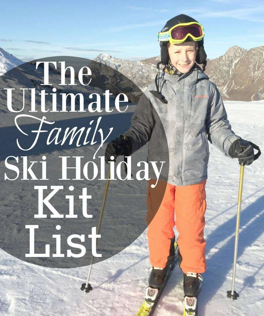 Family Ski Holiday kit