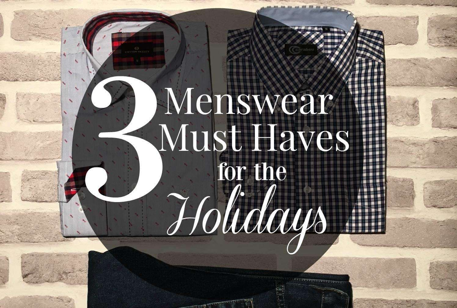3 Menswear Must Haves for the Holidays + 20% Discount Code!, Menswear must haves FT%, lifestyle%
