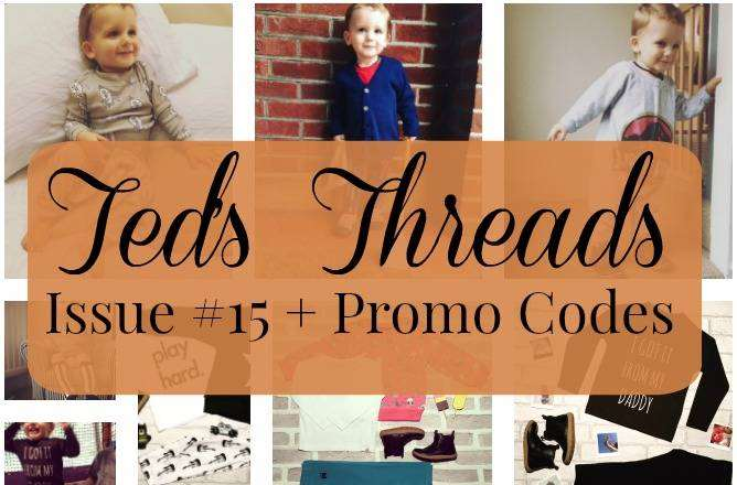 Ted's Threads Issue #15 PLUS Great Promo Codes, Teds threads 15 FT%, lifestyle%