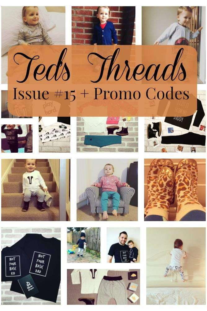 Ted's Threads Issue #15 PLUS Great Promo Codes, Teds threads 15%, lifestyle%