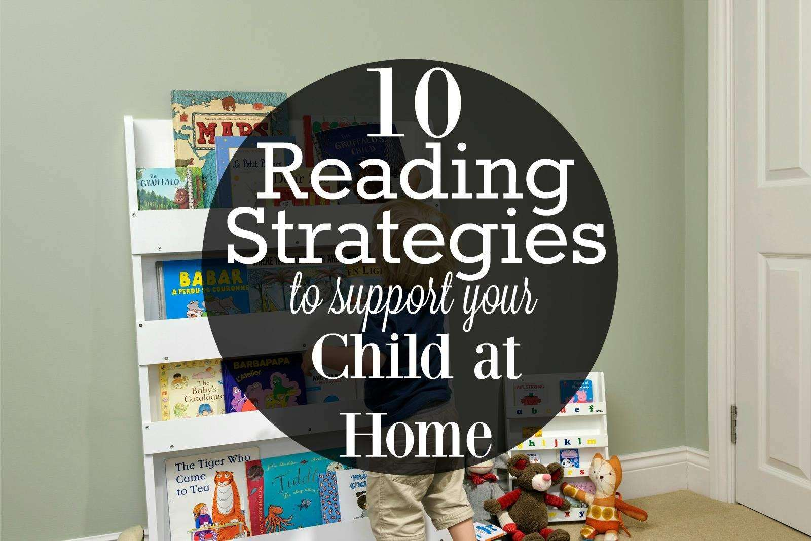 10 Reading Strategies to Support Your Child at Home + WIN a Tidy Books children's book case, reading strategies%, new-dad%