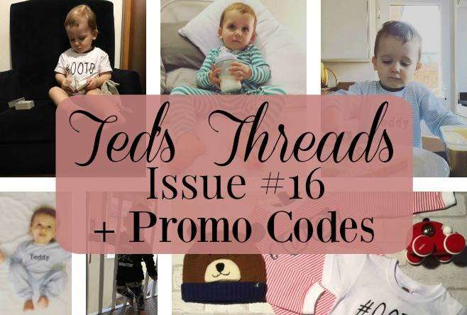 Ted's Threads Issue #16 + plus PROMO CODES, Teds Threads 16 FT%, uncategorised%