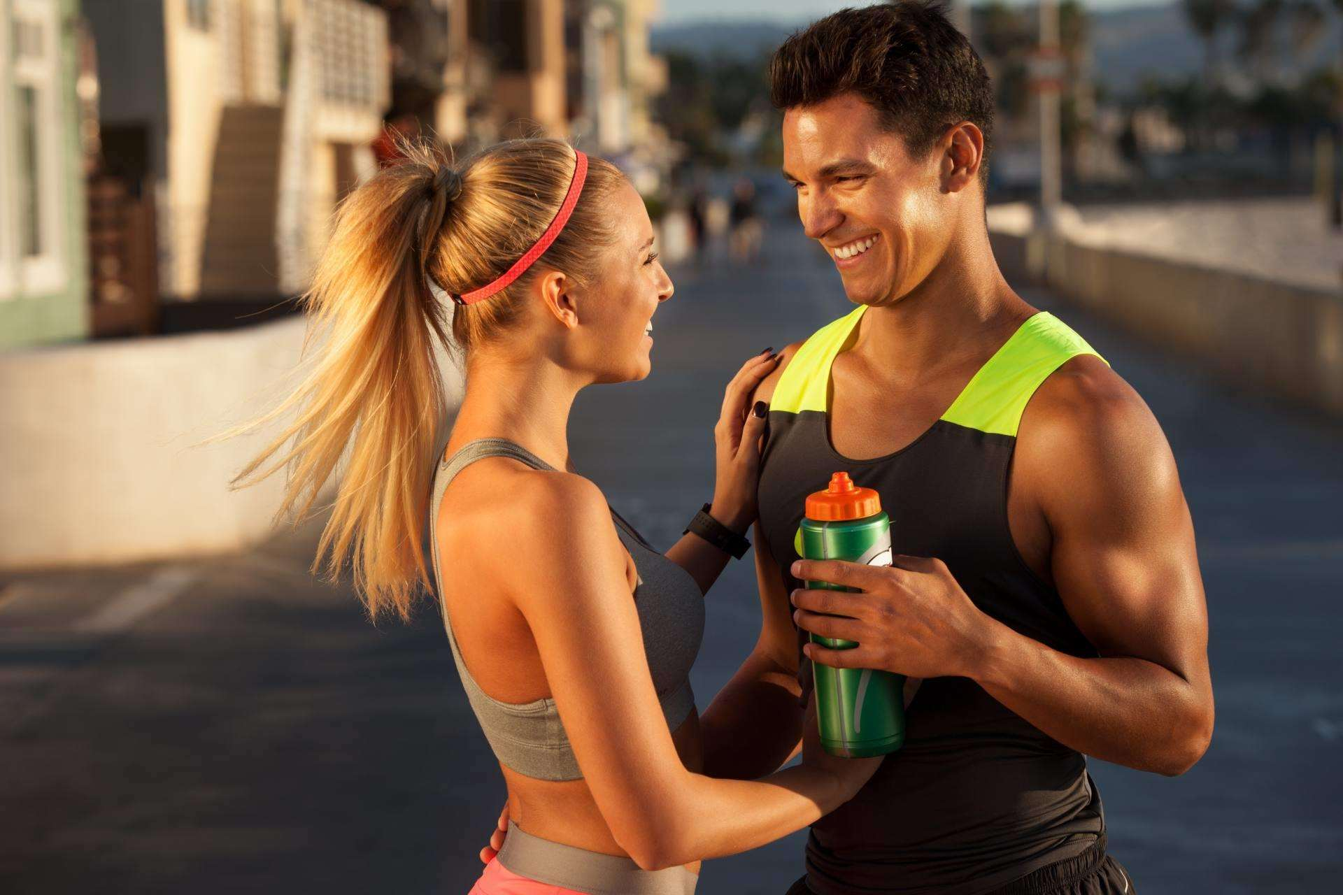Busting Fitness & Nutrition Myths, Busting fitness myths man and woman training%, guest-dads%