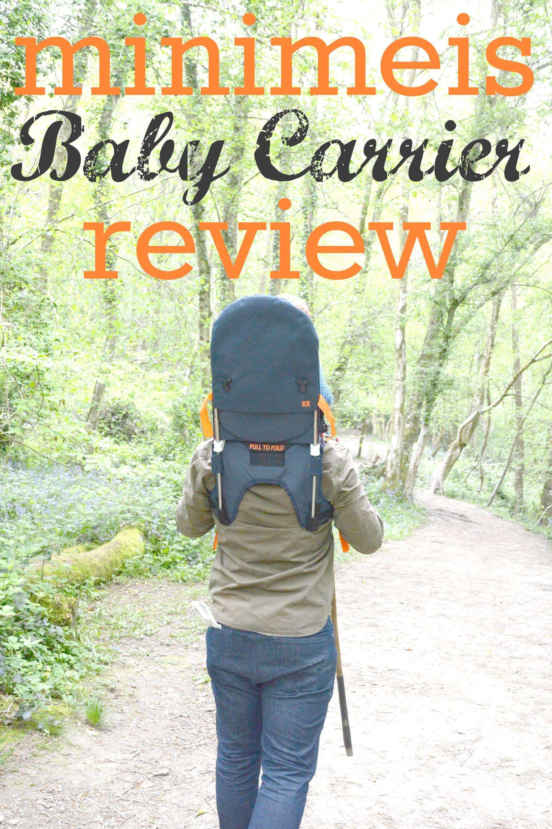 Minimeis baby carrier review