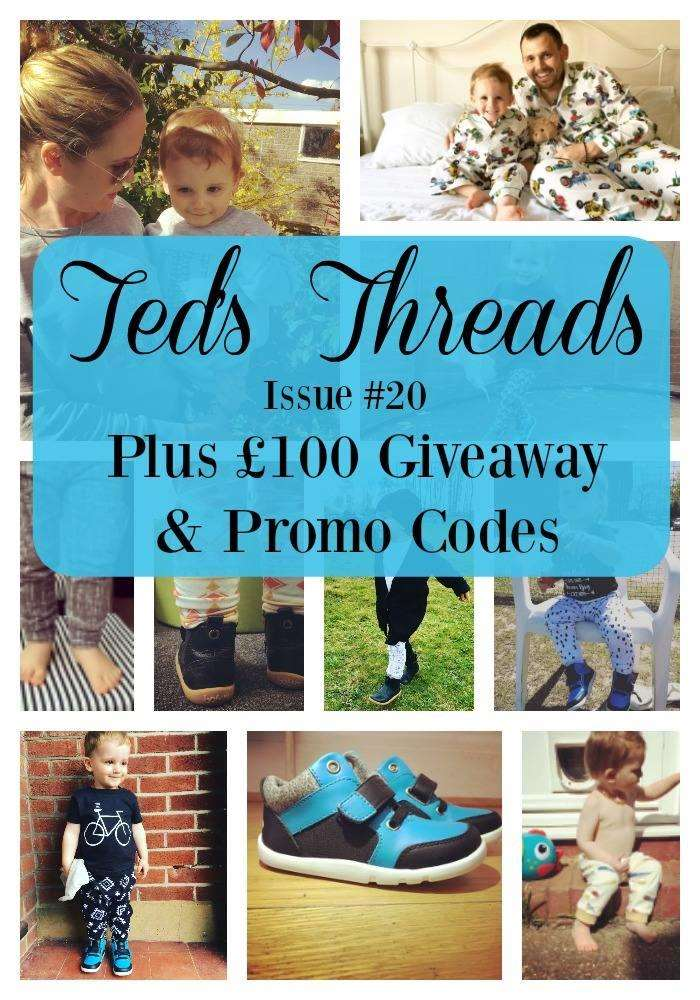 Ted's Threads Issue #20 PLUS £100 Giveaway & Promo codes, Teds Threads 20%, lifestyle%