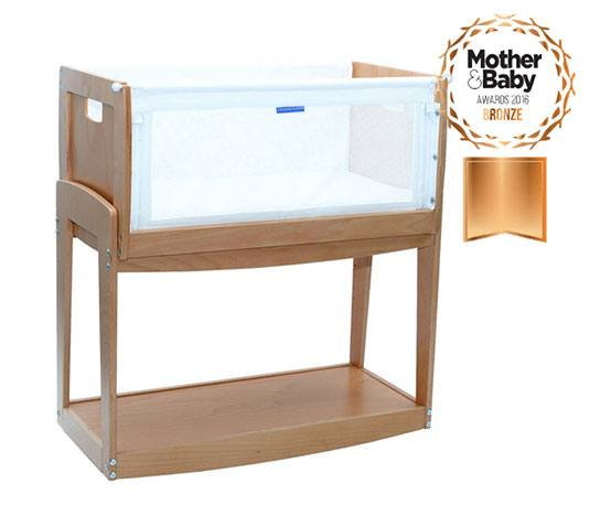 Father's Day Giveaway to Win a Knuma Huddle Bedside Cot, Co sleeping crib award winner Knuma%, product-review%